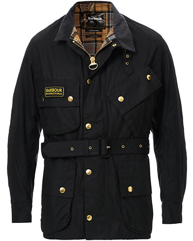 Barbour International International Original Jacket Black i gruppen Tøj / Jakker / Oilskinsjakker hos Care of Carl (10004111r)