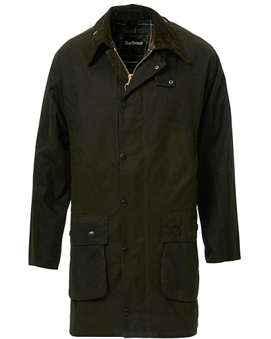 Barbour Lifestyle Classic Northumbria Jacket Olive i gruppen Tøj / Jakker / Oilskinsjakker hos Care of Carl (10004411r)