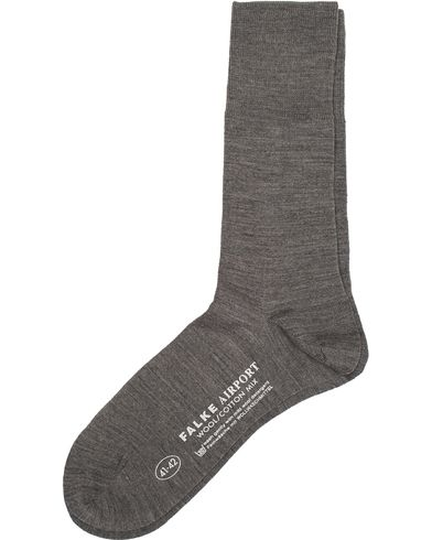 Falke Airport Socks Grey Melange i gruppen Tøj / Undertøj / Strømper hos Care of Carl (10208611r)