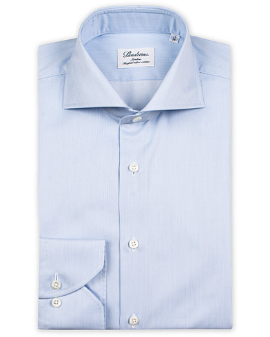 Stenströms Slimline Shirt Thin Stripe Blue i gruppen Tøj / Skjorter / Formelle / Businessskjorter hos Care of Carl (10340511r)