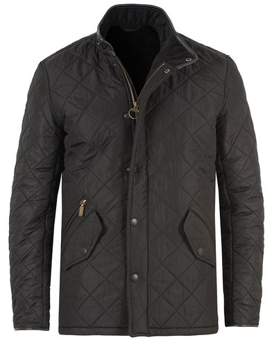 Barbour International Powell Quilted Jacket Black i gruppen Tøj / Jakker / Quiltede jakker hos Care of Carl (10457111r)