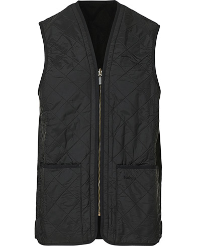Barbour Lifestyle Quilt Waistcoat/Zip-In Liner Black i gruppen Tøj / Veste hos Care of Carl (10509811r)