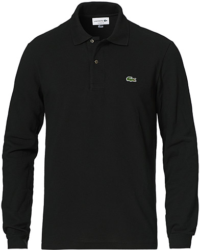 Lacoste Long Sleeve Polo Black i gruppen Tøj / Polotrøjer hos Care of Carl (10514011r)