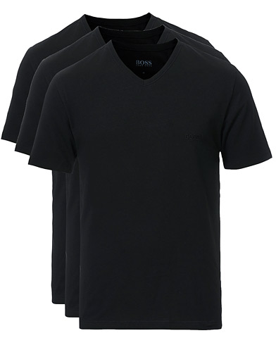 BOSS 3-Pack V-Neck T-Shirt Black i gruppen Tøj / T-Shirts hos Care of Carl (10786311r)