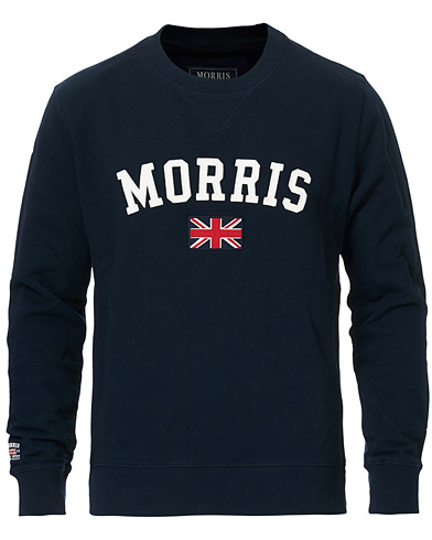 Morris Brown Sweater Navy i gruppen Tøj / Trøjer / Sweatshirts hos Care of Carl (10983811r)