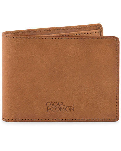 Oscar Jacobson Leather Wallet Tan  i gruppen Tilbehør / Punge hos Care of Carl (10998210)