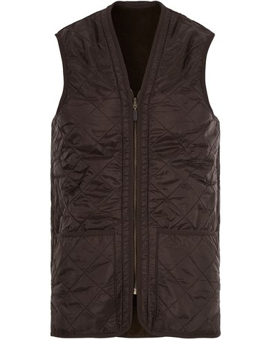 Barbour Lifestyle Quilt Waistcoat/Zip-In Liner Brown i gruppen Tøj / Jakker / Tilbehør til jakker hos Care of Carl (11014011r)