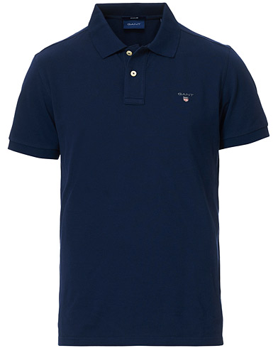 GANT The Original Polo Evening Blue i gruppen Tøj / Polotrøjer / Kortærmede polotrøjer hos Care of Carl (11138611r)