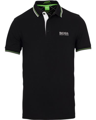 BOSS Athleisure Paddy Pro Piké Black i gruppen Tøj / Polotrøjer hos Care of Carl (11158711r)