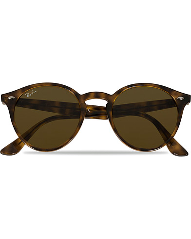 Ray-Ban RB2180 Acetat Sunglasses Dark Havana/Dark Brown  i gruppen Tilbehør / Solbriller / Runde solbriller hos Care of Carl (11964910)