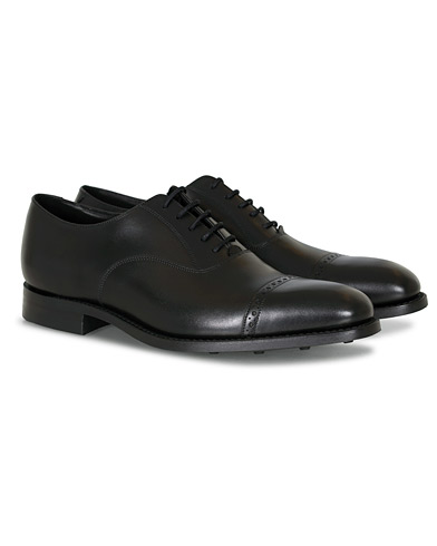 Loake 1880 Cadogan Oxford Black Calf i gruppen Sko / Oxfords hos Care of Carl (12002911r)