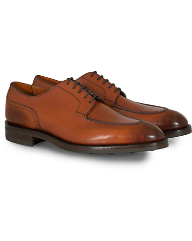 Edward Green Dover Split Toe Derby Chestnut i gruppen Sko / Derbys hos Care of Carl (12004011r)