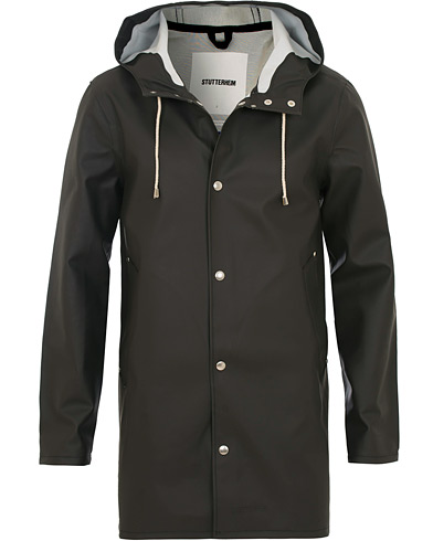 Stutterheim Stockholm Raincoat Black i gruppen Tøj / Jakker / Regnjakker hos Care of Carl (12244711r)