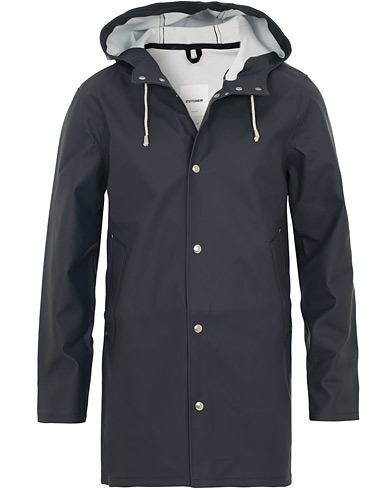 Stutterheim Stockholm Raincoat Navy i gruppen Tøj / Jakker hos Care of Carl (12244811r)
