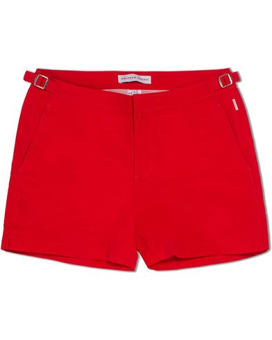 Orlebar Brown Setter Short Length Swim Shorts Rescue Red i gruppen Tøj / Badebukser hos Care of Carl (12282511r)