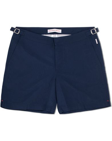 Orlebar Brown Bulldog Medium Length Swim Shorts Navy