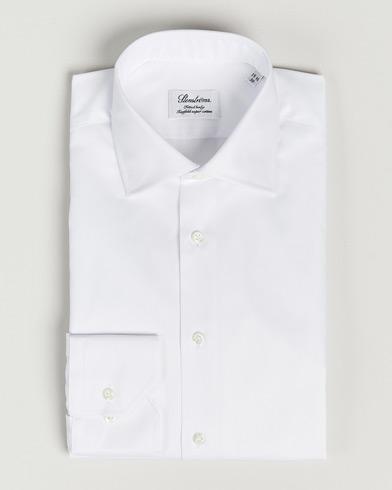 Stenströms Fitted Body Shirt White