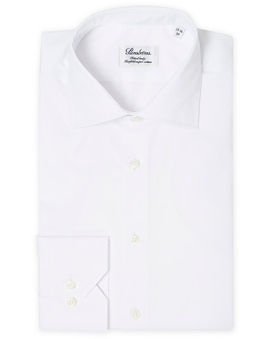 Stenströms Fitted Body Shirt White i gruppen Tøj / Skjorter / Formelle / Businessskjorter hos Care of Carl (12290811r)