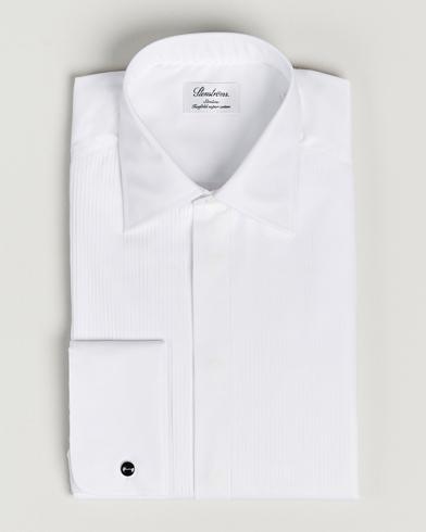 Stenströms Slimline Smoking Shirt White