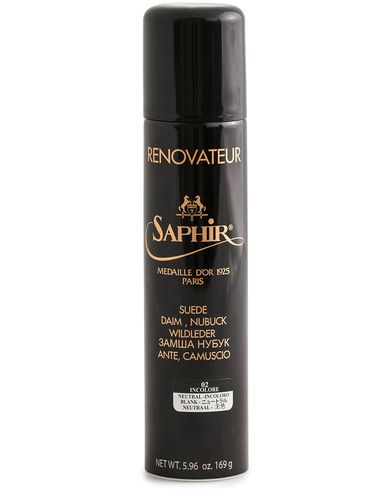 Saphir Medaille d'Or Renovateur Suede 250 ml Spray Neutral  i gruppen Sko / Skopleje / Produkter til skopleje hos Care of Carl (12307210)