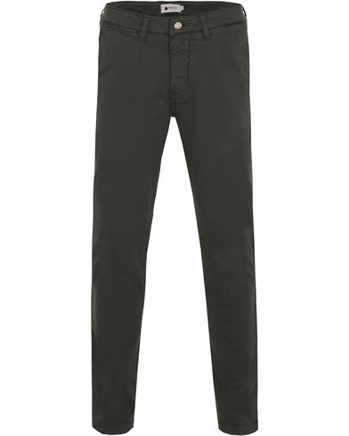 NN07 Marco 1200 Stretch Chinos Amy Green i gruppen Tøj / Bukser / Chinos hos Care of Carl (13050411r)