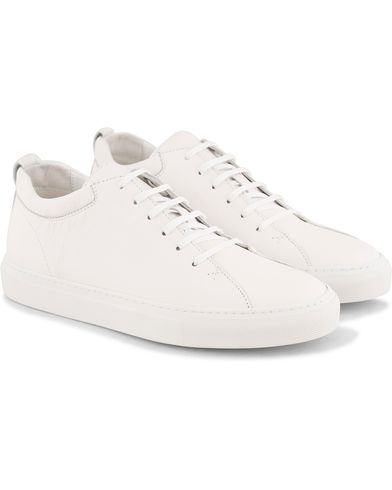 C.QP Tarmac Sneaker All White Leather i gruppen Sko / Sneakers / Sneakers med højt skaft hos Care of Carl (13767511r)