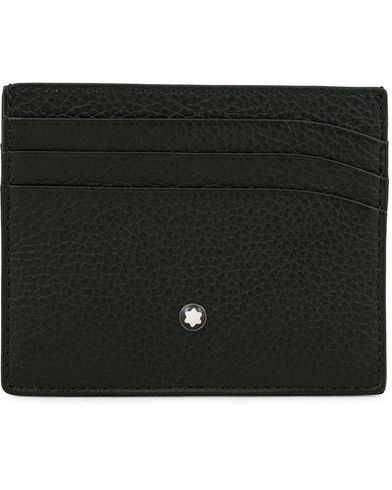 Montblanc Pocket 6 Credit Card Holder Grained Leather Black  i gruppen Tilbehør / Punge / Kortholdere hos Care of Carl (14008210)