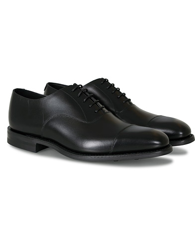 Loake 1880 Aldwych Single Dainite Oxford Black Calf i gruppen Sko / Oxfords hos Care of Carl (14050611r)