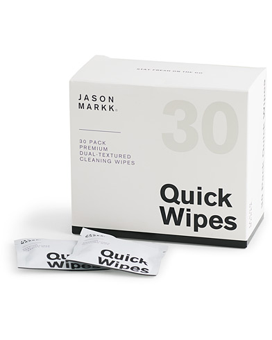 Jason Markk Quick Wipes, 30 sheets