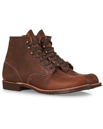 Red Wing Shoes Blacksmith Boot Copper Rough/Tough Leather i gruppen Sko / Støvler / Snørestøvler hos Care of Carl (14360311r)