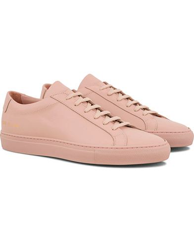 Common Projects Original Achilles Sneakers Light Pink Calf i gruppen Sko / Sneakers / Sneakers med lavt skaft hos Care of Carl (14840111r)