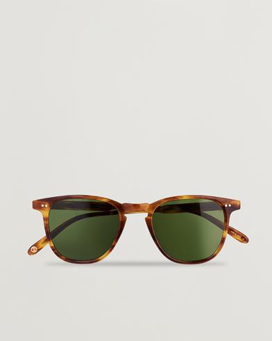 Billede af Garrett Leight Brooks 47 Sunglasses Pinewood/Pure Green