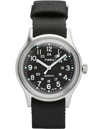Timex Camper MK1 Metal Steel/Black Dial  i gruppen Tilbehør / Ure hos Care of Carl (14951010)