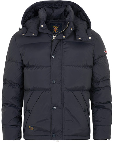 Morris Bromley Down Jacket Old Blue i gruppen Tøj / Jakker / Dunjakker hos Care of Carl (15055811r)