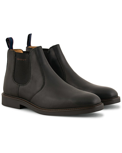 GANT Spencer Chelsea Boot Black Calf i gruppen Sko / Støvler / Chelsea boots hos Care of Carl (15104811r)