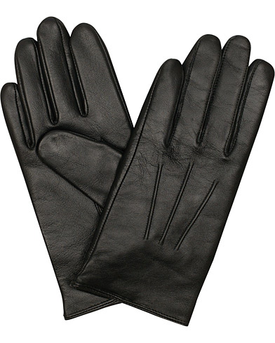 BOSS Hainz Leather Gloves Black i gruppen Tilbehør / Handsker hos Care of Carl (15146511r)
