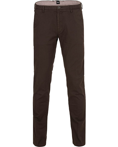 BOSS Rice 3D Chinos Brown i gruppen Tøj / Bukser / Chinos hos Care of Carl (15148911r)