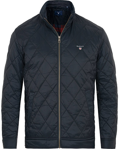 GANT The Quilted Windcheater Navy i gruppen Tøj / Jakker / Quiltede jakker hos Care of Carl (15203911r)