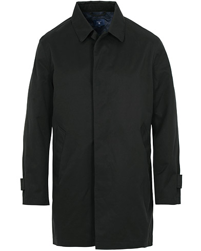 GANT The Weather Coat Black i gruppen Tøj / Jakker / Frakker hos Care of Carl (15204311r)