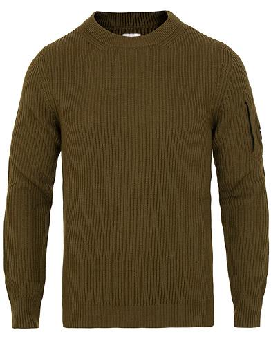 Green Sweater  C.P. Company  Strik