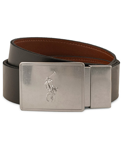 Polo Ralph Lauren Leather Gift Box Set Belt Black/Brown