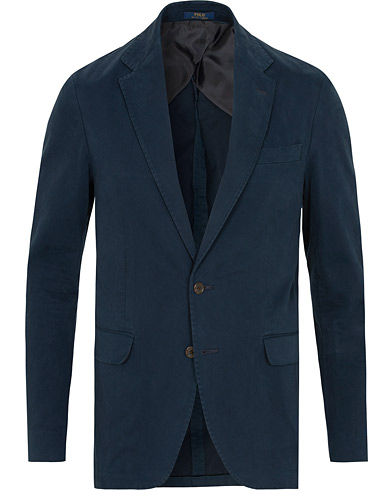 Polo Ralph Lauren Morgan Garment Dyed Cotton Blazer Admiral Navy