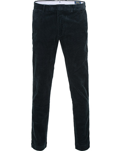 Polo Ralph Lauren Hudson Slim Fit Corduroy Trousers Aviator Navy i gruppen Tøj / Bukser / Fløjlsbukser hos Care of Carl (15280611r)