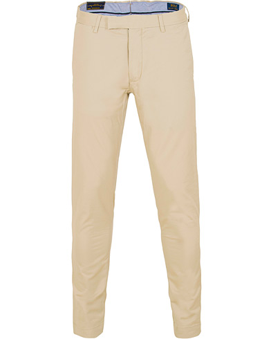 Polo Ralph Lauren Tailored Slim Fit Chinos Classic Stone i gruppen Tøj / Bukser / Chinos hos Care of Carl (15281811r)