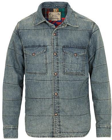 Polo Ralph Lauren Padded Denim Jacket Chambrey