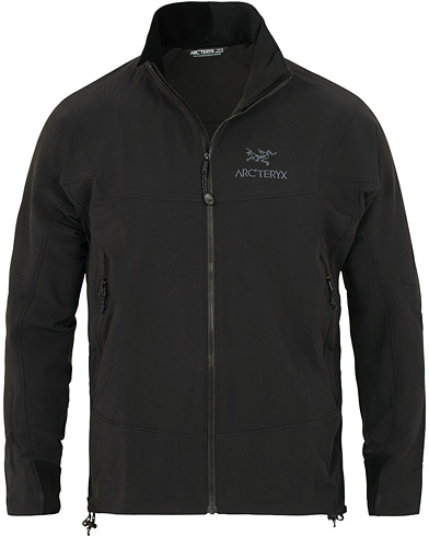 Arc'teryx Gamma LT Stretch Shell Jacket Black i gruppen Tøj / Jakker / Tynde jakker hos Care of Carl (15332311r)