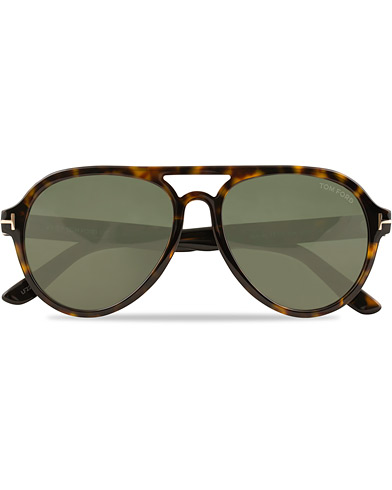 Tom Ford Rory FT0596 Sunglasses Dark Havana/Green