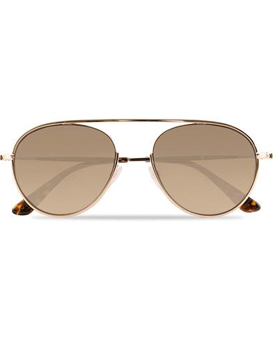 Tom Ford Keit FT0599 Sunglasses Rose Gold/Roviex