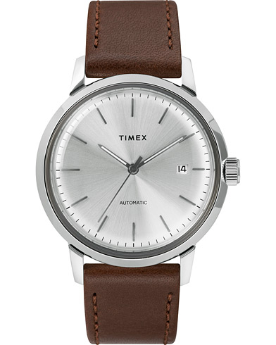 Timex Marlin Automatic 40mm Silver Dial  i gruppen Tilbehør / Ure hos Care of Carl (15469610)