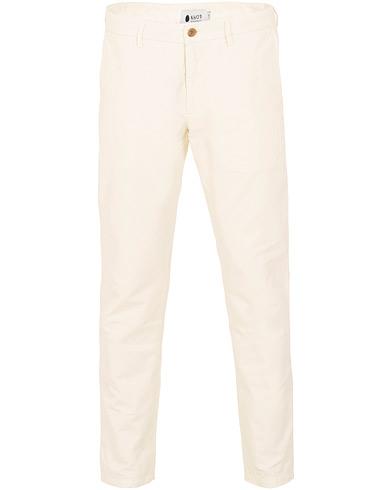 NN07 Karl Cotton/Linen Trousers Off White